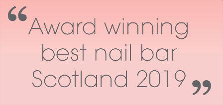 best nail bar scotland 2019