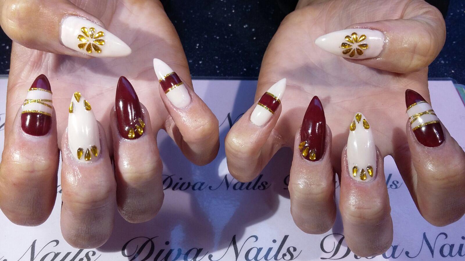 Diva nail bar and nail salon the centre livingston nail bar nail extensions nail art prinsesfo Gallery